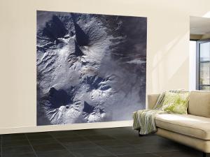 Bezymianny Volcano Exhibits a Modest Plume