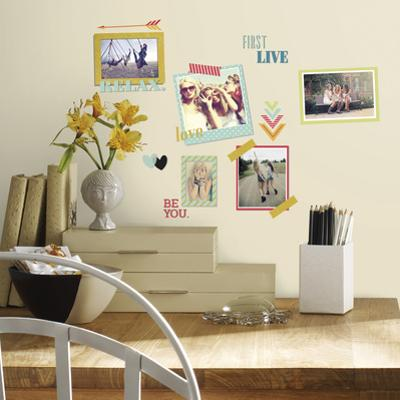 BFF Frames Peel and Stick Wall Decals