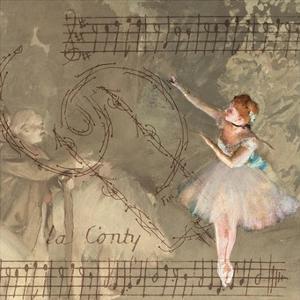 Degas Dancers Collage 1 by BG^Studio
