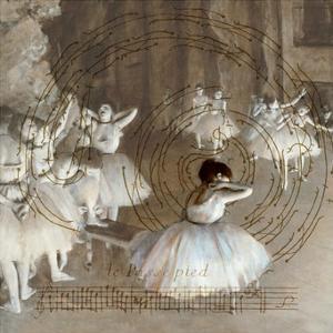 Degas Dancers Collage 2 by BG^Studio