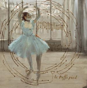 Degas Dancers Collage 3 by BG^Studio
