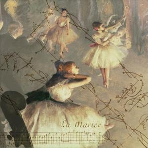 Degas Dancers Collage 4 by BG^Studio