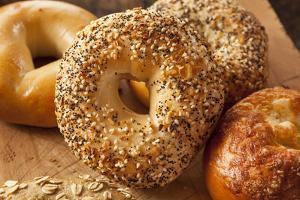 Healthy Organic Whole Grain Bagel by bhofack22