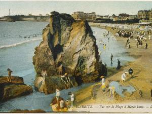 Biarritz: the Beach at Low Tide