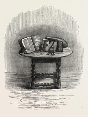 Bible Brought over in the Mayflower, in Pilgrim Hall, New Plymouth, USA, 1870S
