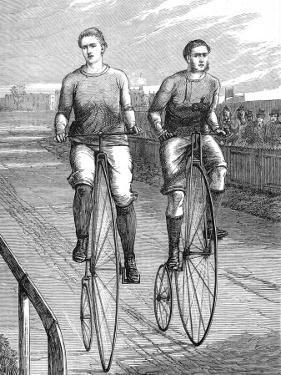 Bicycle Race at Lillie Bridge, 1875