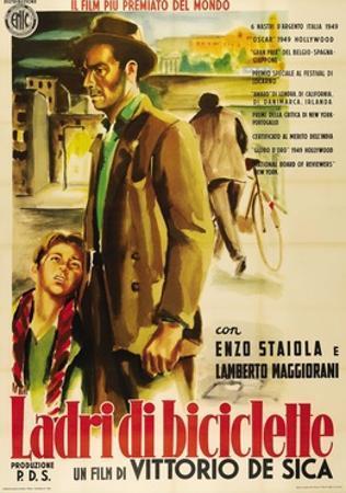 "Bicycle Thieves, 1948, ""Ladri Di Biciclette"" Directed by Vittorio De Sica"