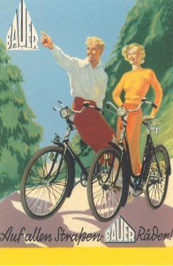 Bicycling German Couple
