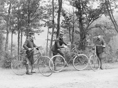 Bicyclists in Central Park