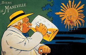 Biere De Maxeville Vintage Ad