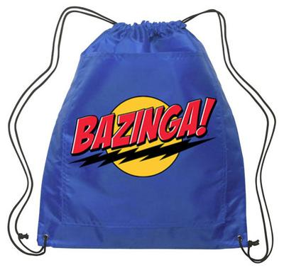 Big Bang Theory - Bazinga Backsack (blue)