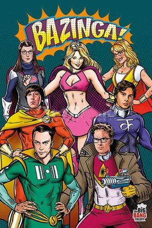 Big Bang Theory Superheroes