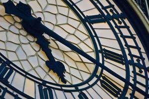 Big Ben clock face, London, England