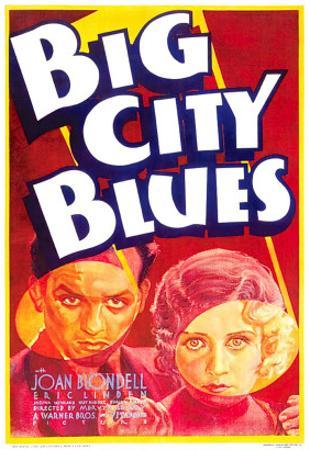 Big City Blues, Eric Linden, Joan Blondell, 1932