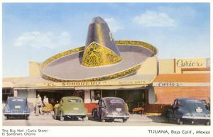 Big Hat Curio Store, Tijuana, Mexico