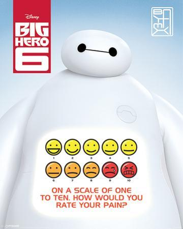 Big Hero 6 - Rate Your Pain