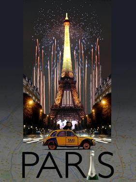 Paris Kiss by Big Island Studios