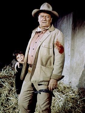 Big Jake by George Sherman and John Wayne with John Wayne, 1971 (photo)