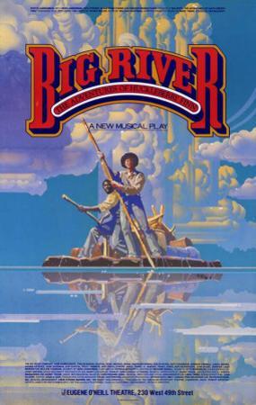 Big River - Broadway Poster , 1985