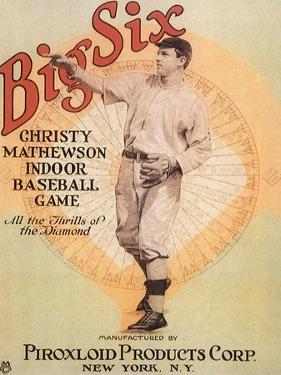Big Six: Christy Mathewson Indoor Baseball Game, c.1910