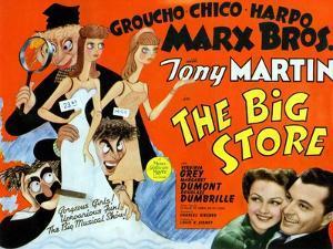 Big Store, UK Movie Poster, 1941