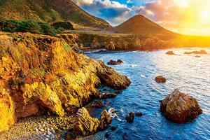 Big Sur Ca Pacific Sunset