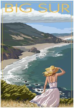 Big Sur, California Coast Scene