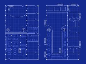 Simple Nightclub Blueprint by bigldesign