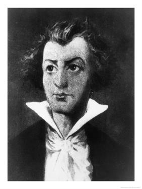 D a F Marquis De Sade Though Supposed to be of De Sade This Portrait is Not Fully Authenticated by Bilberstein