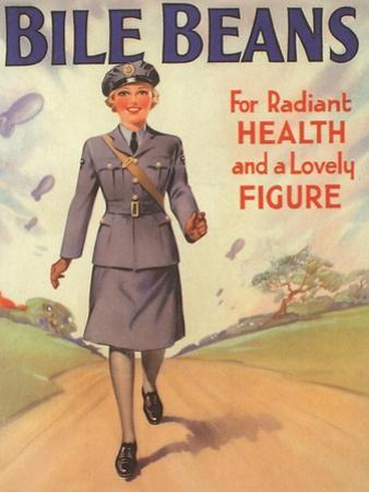 Bile Beans, Uniforms WWII Medical Medicine, UK, 1940