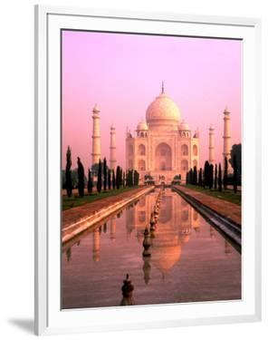 Agra, India, Wonder of the Taj Mahal by Bill Bachmann