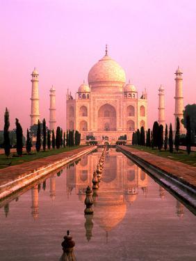 Agra, India, Wonder of the Taj Mahal by Bill Bachmann