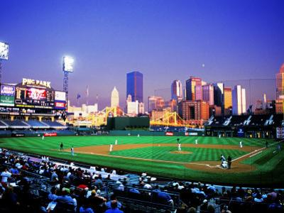 Baseball Game at Heinz Stadium, Pittsburgh, Pennsylvania, USA