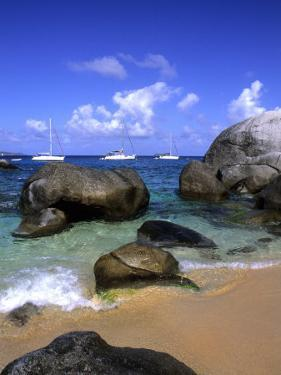 Baths of Virgin Gorda, British Virgin Islands, Caribbean by Bill Bachmann
