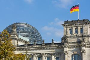 Berlin, Germany Reichstag Building Famous City Center by Bill Bachmann