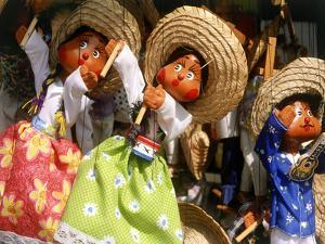 Colorful Puppets, Puerto Vallarta, Mexico by Bill Bachmann