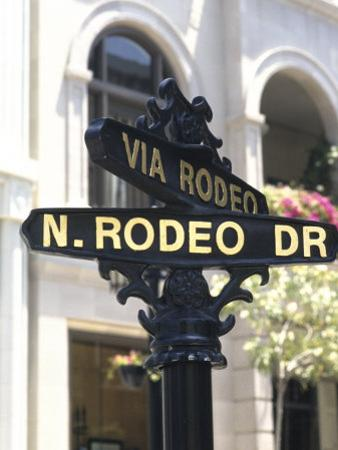 Famous Rodeo Drive, Los Angeles, California, USA by Bill Bachmann