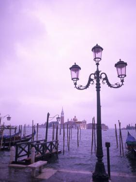 Group of Gondolas, Venice, Italy by Bill Bachmann
