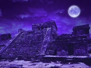 Mayan Ruins, Tulum, Mexico by Bill Bachmann