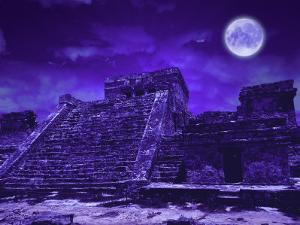 Mayan Ruins, Tulum, Mexico by Bill Bachmann