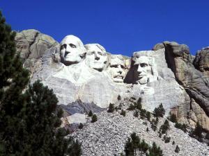 Mt Rushmore Presidents, South Dakota, USA by Bill Bachmann