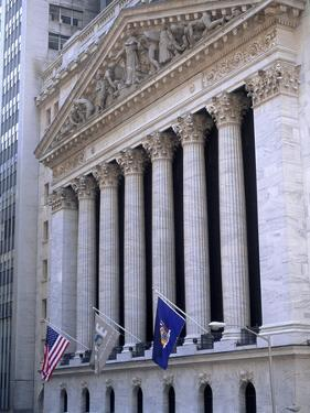 New York Stock Exchange by Bill Bachmann