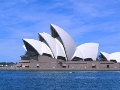 Opera House Close-up, Sydney, Australia by Bill Bachmann