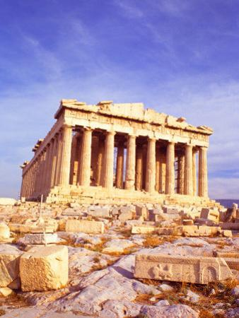 Parthenon on Acropolis, Athens, Greece