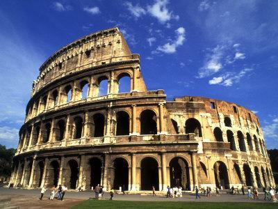 Ruins of the Coliseum, Rome, Italy