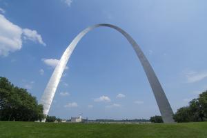 St Louis, Missouri, the Gateway Arch by Bill Bachmann