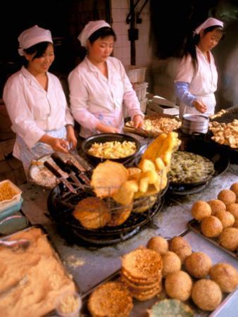 Street Vendors Cooking, Kunming, China by Bill Bachmann