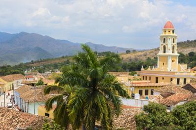 Trinidad, Cuba. Colonial cityscape. by Bill Bachmann