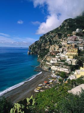 Village of Positano, Italy by Bill Bachmann