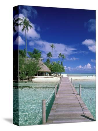 Walkway, Tahiti, French Polynesia, Oceania